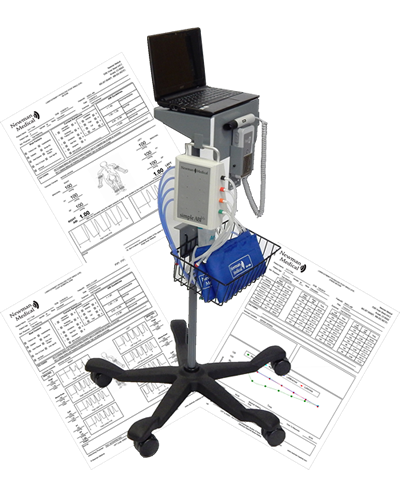 ABI-600CL - CPT® Codes 93922, 93923, & 93924 Automated ABI, Segmental, & ABI Stress Testing