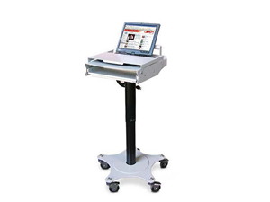Height Adjustable Laptop Cart