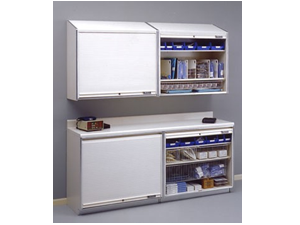 MASS Medical Storage Cabinets - Wall and Counter Cabinets