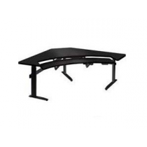 Fusion Desk Corner Wedge Contour Front