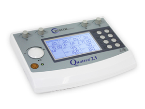 QUATTRO 2.5 DEVICE FOR EMS, TENS, IF 4-POLE, IF 2-POLE
