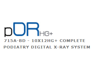 pDR HG+ Complete Podiatry Digital X-Ray System
