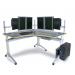 eisys GO2 Multi-Monitor Corner WorkCenter