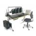 eisys GO2 Multi-Monitor  Rectangular WorkCenter